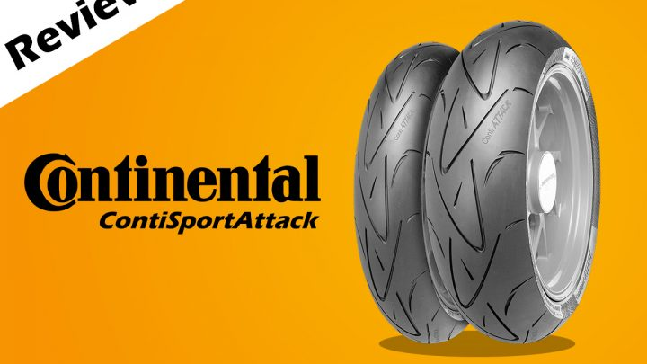 รีวิวยาง Continental ContiSportAttack ยางสปอร์ตราคาสบายกระเป๋า