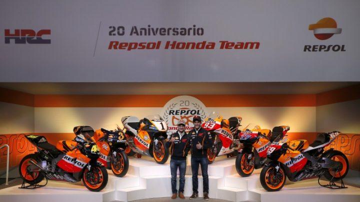 ตำนานความยิ่งใหญ่ของทีม Repsol Honda