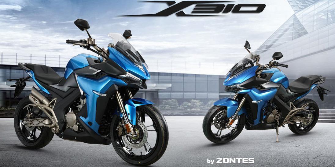 น้องใหม่จากจีน Zontes R310 และ X310 ดีไซน์สุดล้ำ!